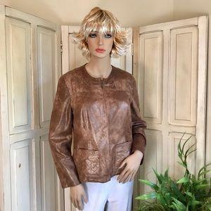 Tan dress jacket